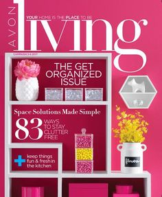 Avon Living January 2017 Get Organized Issue - http://thebeautyinyoublog.com/avon-living-january-2017-get-organized-issue/