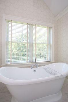 Master bath double slipper tub