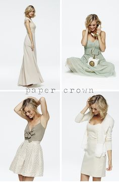 Lauren Conrad's Spring 2014 collection for Paper Crown (now sold at Anthropologie).