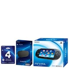 For My 14 year old Son:  Sony PlayStation Vita WiFi Bundle | http://www.stoneberry.com