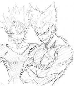 Hiruma (Eyeshield 21) & Garou (One Punch Man)