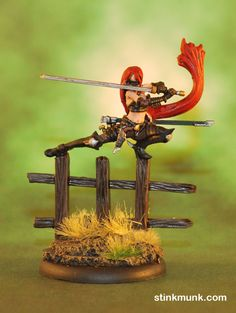 Lady Justice, M2E.  Model by Wyrd Miniatures, painted by Stinkmunk (September 2013). #Malifaux