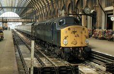BR Class 40 40056, Kings Cross | BR Class 40 40056, Kings Cr… | Flickr