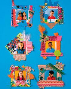 Manualidades para niños: marcos de fotos