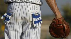 An Israeli Baseball League player in 2007 (photo credit: Nati Shohat/Flash90)