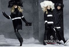 RJ King for Moncler Gamme Rouge Fall Winter 2014.15