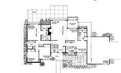 Cheerful Three-Bedroom (HWBDO02041)   Shed House Plan from BuilderHousePlans.com