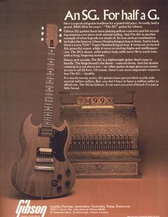 """1979 Gibson """"The SG"""" __ This is the first guitar I fell in love with. I deeply regret selling my '79."""