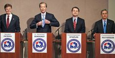 In Their First Televised Debate, All Four Republican Lieutenant Governor Candidates in Texas Embrace Creationism
