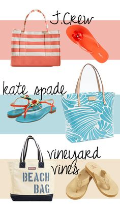 @kate spade new york, @vineyard vines, J. Crew for beach week!
