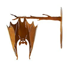 Look what I found at UncommonGoods: bat on a branch...gonna hang this on the tree out back!