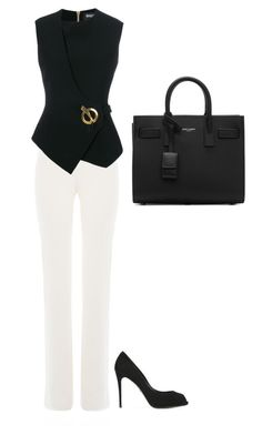 """Untitled #197"" by szevaj on Polyvore featuring Giambattista Valli, Balmain, Yves Saint Laurent and Dolce&Gabbana"