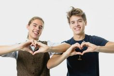 Cole & Dylan Sprouse /// cutie twins