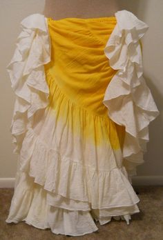"""""""Daffodil"""" Angelica 25 Yard Skirt  You can order yours here:  http://www.paintedladyemporium.com/Shop-Here.html"""
