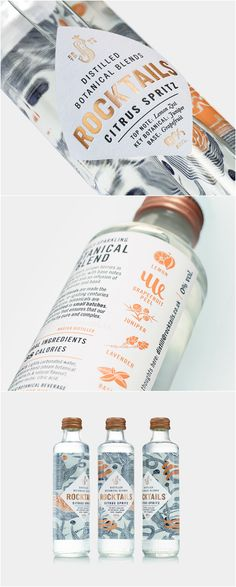 B&B studio - ROCKTAILS™ #packaging #design #diseño #empaques #embalagens #パッケージデザイン #emballage #bestpackagingdesign #worldpackagingdesign #worldpackagingdesignsociety