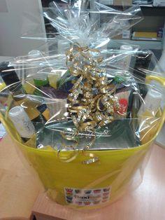 wine, beer, snacks, chocolate - couples gift