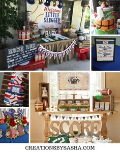 How to Create an Amazing Baby Shower - Sports Theme - www.creationsbysasha.com