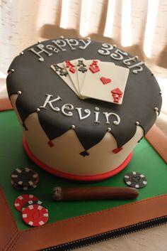 Birthday poker theme cake by andrea sullivan beautiful birthday cakes, birthday cakes for men, Casino Theme Parties, Casino Party, Pinup Art, Poker Cake, Slot Machine Cake, Poker Party, Casino Cakes, Cakes For Men, Poker Chips