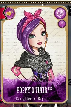 One word ever after high