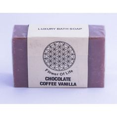 Use Flower of Life #Chocolate #Coffee #Vanilla #Soap 100% Natural and Homemade. Refresh your skin and rejuvenate your soul.