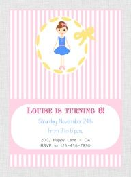 Printable  Loulou Party Package at our Etsy Shop www.etsy.com/...