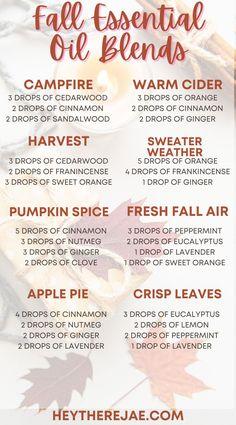 Fall Essential Oils, Essential Oils Room Spray, Essential Oil Uses, Relaxing Essential Oil Blends, Essential Oil Diffuser Blends, Fall Scents, Diffuser Recipes, Calming, Create