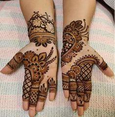 Mehndi Designs Front Hand, Floral Henna Designs, Henna Tattoo Designs Simple, Latest Bridal Mehndi Designs, Stylish Mehndi Designs, Mehndi Designs Book, Mehndi Designs For Girls, Mehndi Designs For Beginners, Mehndi Designs For Fingers