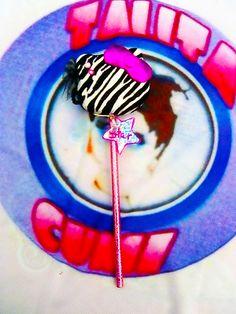 silueta Hello kitty atigrada lapiz decorado papeleria kawaii