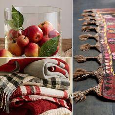 Takaró és szőnyeg őszi színben Home, Ad Home, Homes, Haus, Houses