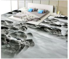 (Buy here: http://appdeal.ru/2c5u ) customized 3d photo wallpaper The beach rock…