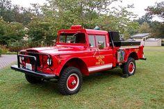 Wilson Volunteer Fire Department Jeep M715 Fire Truck