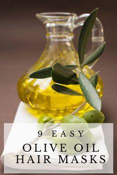 9 Easy Olive Oil Hair Mask Recipes | homemadeforelle.com