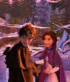 Jack and his sister Frozen And Tangled, Frozen Elsa And Anna, Disney Frozen Elsa, Walt Disney Princesses, Disney Rapunzel, Rapunzel Edits, Dreamworks Movies, Disney And Dreamworks, Disney Pixar