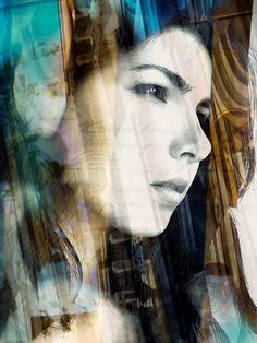 Original Portrait Photography by Daniela Mihai Digital Photography, Portrait Photography, Photorealism, Double Exposure, Figurative Art, Buy Art, Paper Art, Saatchi Art, Original Art