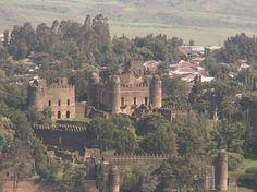Where Is Ethiopia in Africa   View of the Fasilides Castle in Gondar, Ethiopia, Ethiopia