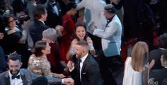 Justin Timberlake danced with his wife, Jessica Biel. | The 22 Best Moments From The 2017 Oscar Awards