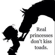 Real Cowgirls love their Horses!