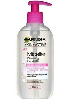 Garnier Skin Active Micellar Cleansing Gel Wash Honest Review