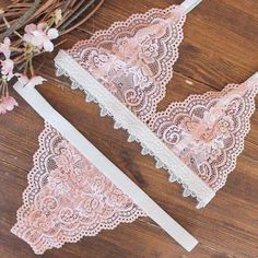 Women with smaller breasts typically feel the pressure of society and feel they need to have larger breasts to fit in. So they either resort to surgery or wear a bra that makes there breasts look bigger but doesn't always fit. Remember comfort is the key! Sewing Lingerie, Jolie Lingerie, Pretty Lingerie, Luxury Lingerie, Beautiful Lingerie, Lingerie Set, Lingerie Dress, Diy Bralette, Cute Underwear