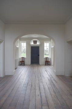 Restoration of country house and outbuildings in Tipperary, 2015 - Works included new roofing, extensive structural work, floor restoration, new. Floor Restoration, Art And Architecture, 18th Century, Windows, Country, Architects, Outdoor Decor, House, Home Decor