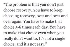 Recovery More