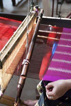 Laos - Silk fabric