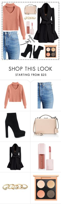 """""""Chic without dress"""" by anisa-uswatun-hasanah-auh ❤ liked on Polyvore featuring RE/DONE, Casadei, Mark Cross, Puma, GUESS and MAC Cosmetics"""