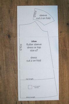 yo elijo coser: Patrón gratis y tutorial: vestido o blusa niña talla 4