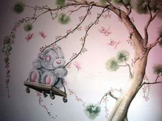 Tatty teddy....wall room