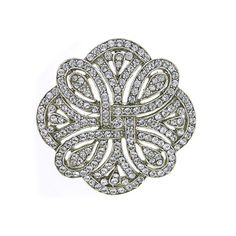 Search results for: 'art deco revival eternity brooch' 1920s Jewelry, Art Deco Jewelry, Wedding Jewelry, Antique Jewelry, Vintage Jewelry, Jewellery, Jewelry Companies, Couture, Fashion Jewelry