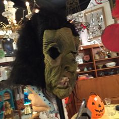 Vintage masks and costumes