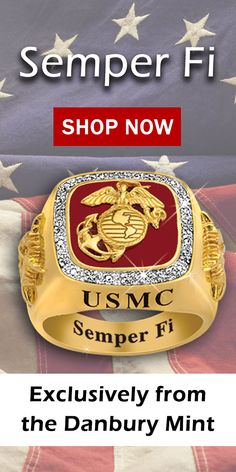 Proclaim your Marines pride with this one-of-a-kind ring! The perfect gift for those who have served or their loved ones.