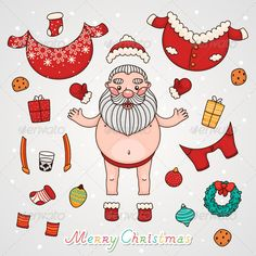Zip file contains: - eps8, editable vector file. RGB - jpeg, size 4000?4000, 16MP. RGB Merry Christmas and Happy New year! HO-HO-H