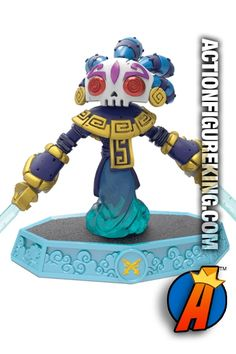 Skylanders 2016 Imaginators release: Bad Juju figure and gamepiece from Activision. Air Element. Visit our website for a full line of Skylanders Imaginators figures and collectibles including pricing and availability. #imaginators
